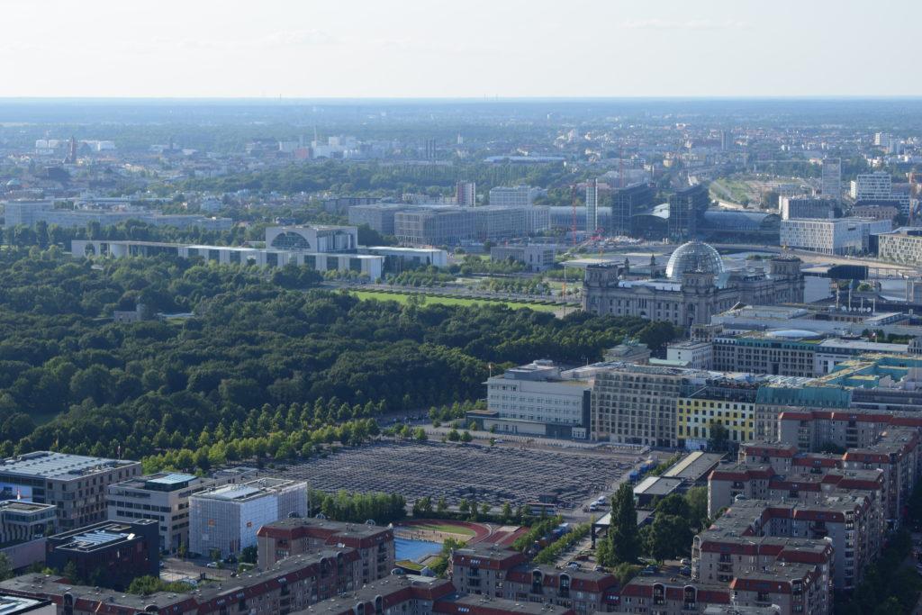 Berlin Bundestag und Kanzerlamt